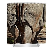 Afterthought Shower Curtain