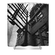 Against All Angles  Shower Curtain