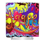 Agape Shower Curtain