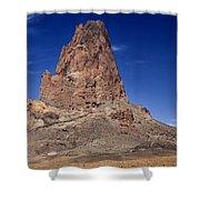 Agathla Peak Shower Curtain