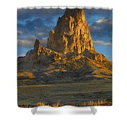 Agathla Peak Monument Valley Shower Curtain