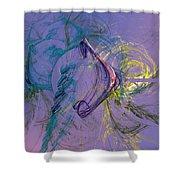 Agathodaemon  Shower Curtain