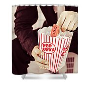 Age Of The Classic Movie Shower Curtain