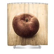 Aged Apple Shower Curtain