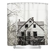 Aged Beyond Repair Shower Curtain