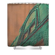 Aged Copper Theater Shower Curtain