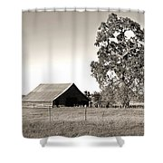 Ageless With Time Shower Curtain