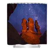 Agents Of Atlantis Shower Curtain