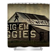 Aggie Barn 5 - Whoop Shower Curtain