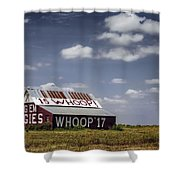 Aggie Barn Shower Curtain