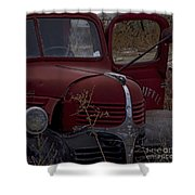 Aging Dodge   #3514 Shower Curtain