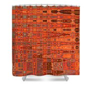 Aging Gracefully - Abstract Art Shower Curtain