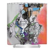 Self-renewal 10d Shower Curtain