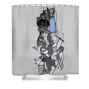Self-renewal 11a Shower Curtain