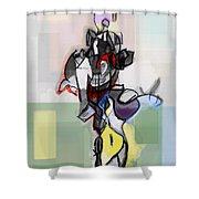 Self-renewal 12e Shower Curtain