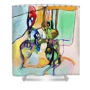 Self-renewal 13o Shower Curtain