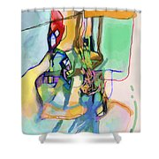 Self-renewal 13p Shower Curtain