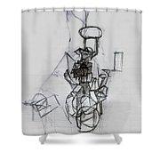 Self-renewal 14 Shower Curtain