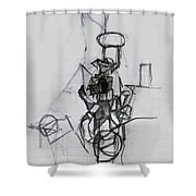 Self-renewal 14a Shower Curtain