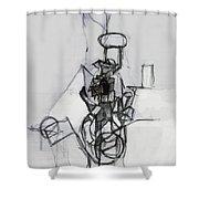 Self-renewal 14b Shower Curtain