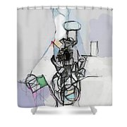 Self-renewal 14d Shower Curtain