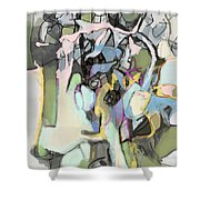 Self-renewal 15g Shower Curtain