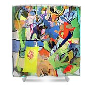 Self-renewal 15q Shower Curtain