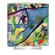 Self-renewal 15s Shower Curtain