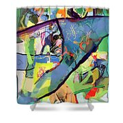 Self-renewal 15u Shower Curtain