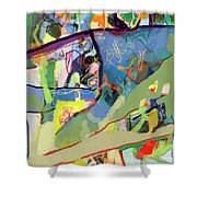 Self-renewal 15v Shower Curtain