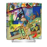 Self-renewal 15w Shower Curtain