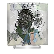 Self-renewal 16b Shower Curtain