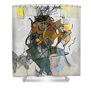 Self-renewal 16d Shower Curtain
