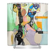 Self-renewal 17d Shower Curtain