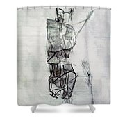 Self-renewal 21a Shower Curtain