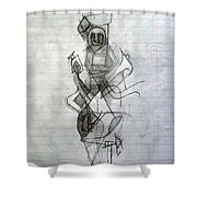Self-renewal 23 Shower Curtain