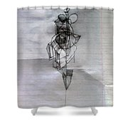 Self-renewal 5 Shower Curtain