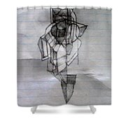 Self-renewal 5a Shower Curtain