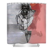 Self-renewal 5b Shower Curtain