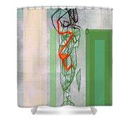 Self-renewal 8a Shower Curtain