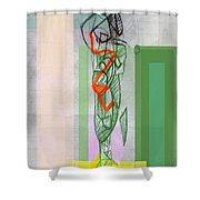 Self-renewal 8b Shower Curtain