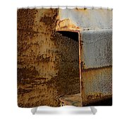 Aging With Rust Shower Curtain
