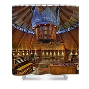Agnes Flanagan Chapel Shower Curtain