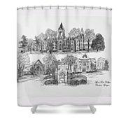 Agnes Scott College Shower Curtain