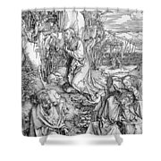 Agony In The Garden From The 'great Passion' Series Shower Curtain