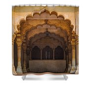 Agra Fort Arches Shower Curtain