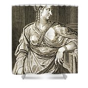 Agrippina Wife Of Tiberius Shower Curtain