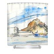 Aguilas 02 Shower Curtain