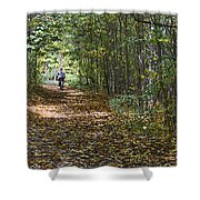 Ahead Of The Pack Shower Curtain