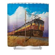 Ahead Of The Weather Shower Curtain